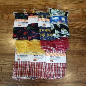 NEW Men's Boxer Shorts - 11 Pairs